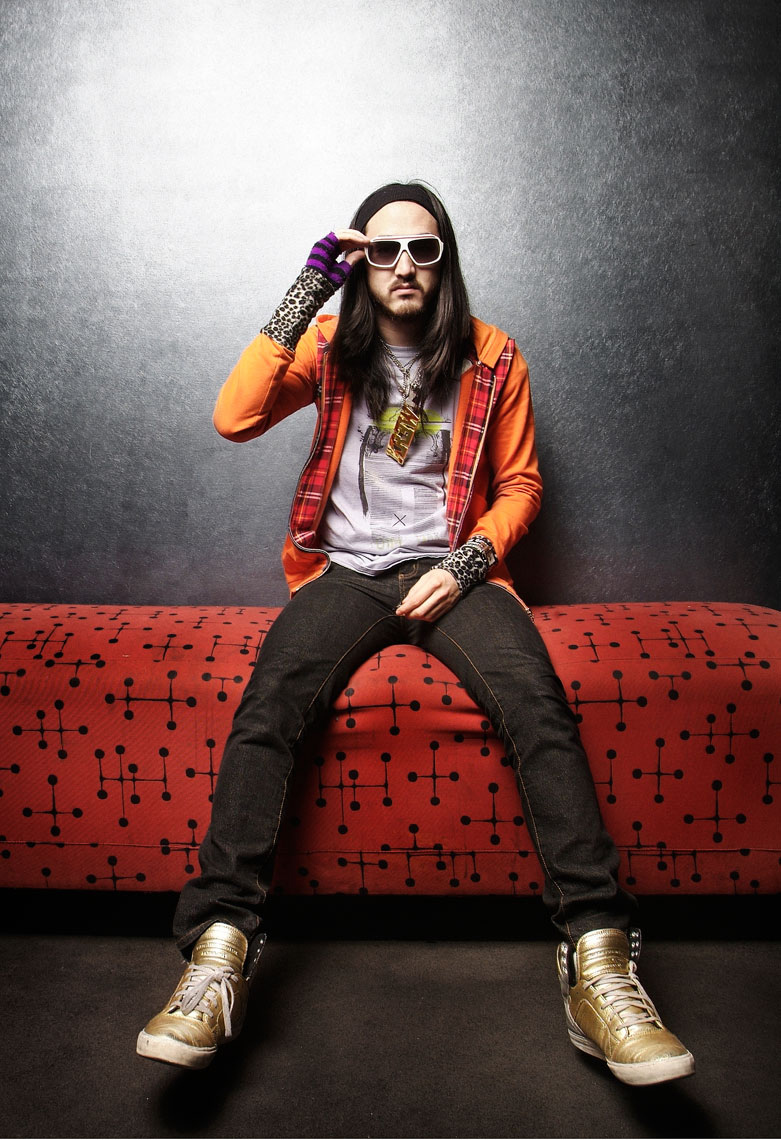 Steve Aoki, by PETER LueDERS