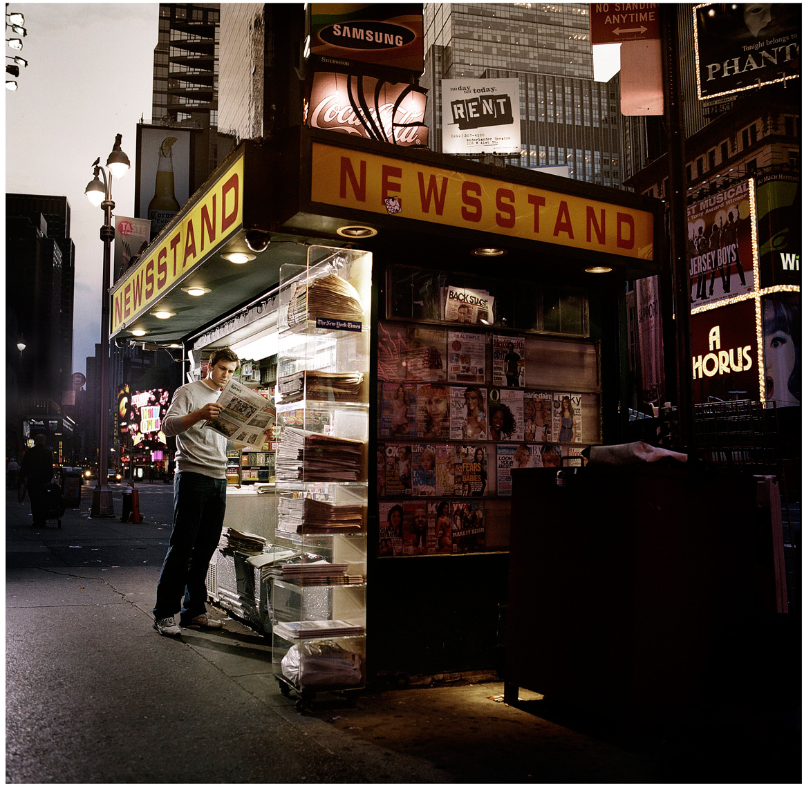 newsstand by PETER LueDERS