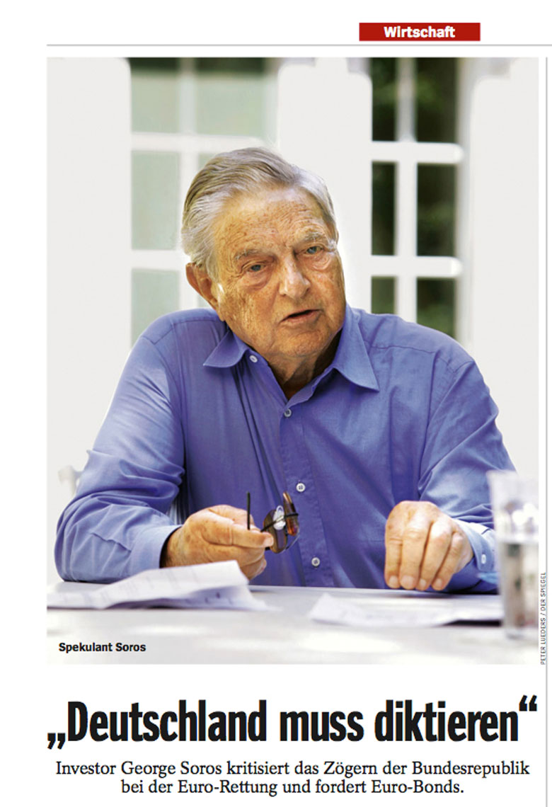 george soros by PETER LueDERS