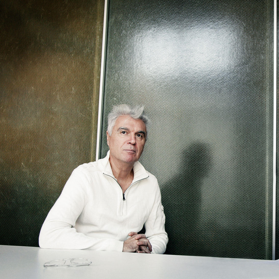 David Byrne by PETER LueDERS
