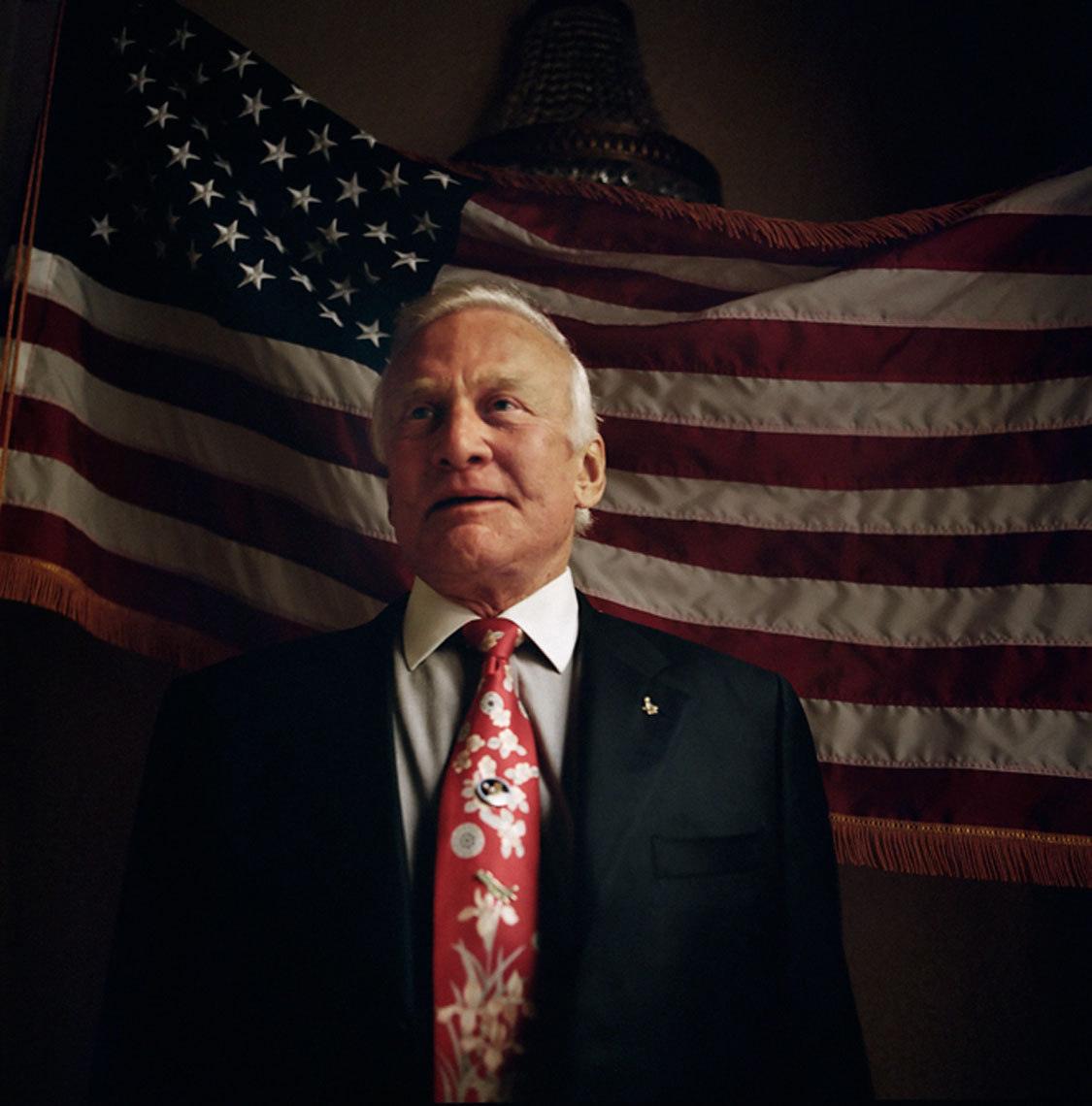 Buzz Aldrin by PETER LueDERS